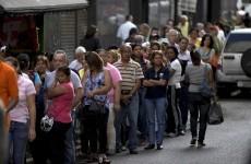 People are becoming professional queuers in Venezuela