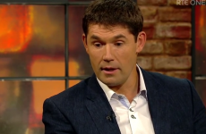 Padraig Harrington got the thumbs down on the Late Late last night