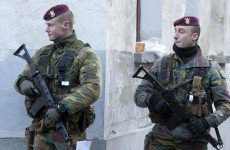 Troops are being deployed on the streets of Belgium