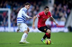 Here's why LVG plays Di Maria as a striker