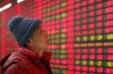 China's stock market has taken a massive hammering today. Here's why…