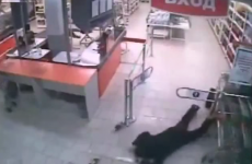 Bungling thief tries to steal some booze, fails hilariously