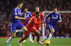 As it happened: Liverpool v Chelsea, Capital One Cup semi-final first leg