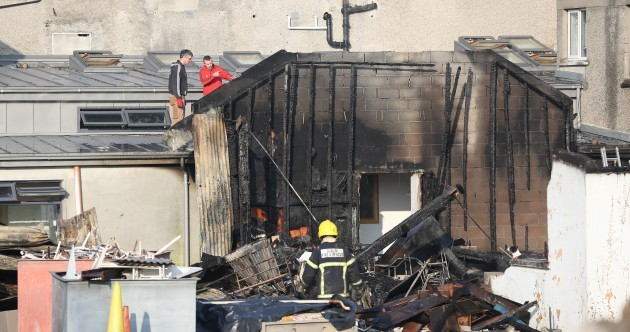 """Even the marble altar disintegrated"": Gardaí investigate fire at religious order's church"