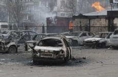 Pro-Russian rebels launch rocket attack on Ukrainian market, killing 30 and injuring dozens more