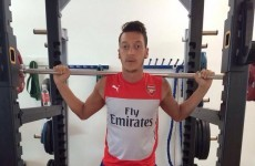 'Lightweight' Mesut Ozil has used his injury lay-off to hit the gym and beef up