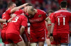 'Bittersweet' feeling for Foley as Munster's European season ends