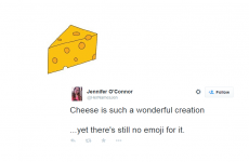It's 2015, and there's still no cheese emoji