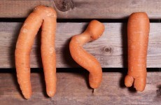 Would you eat a wonky carrot?