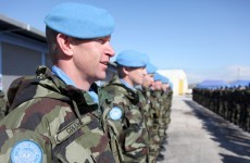 Irish peacekeeping troops 'safe and accounted for' after death of Spanish soldier