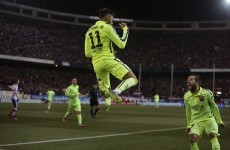Neymar's double sinks Atletico as Barcelona progress to Copa del Rey semi-finals