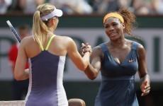 It's set for a Serena Sharapova showdown in the Australian Open final.