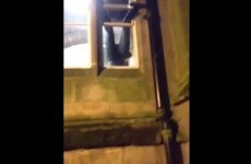 Guy tries to break into college, gets stuck in window for five hours