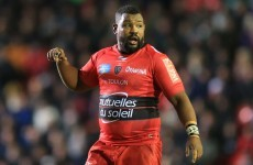 Police hold Toulon's Steffon Armitage as Xavier Chiocci cleared over fight