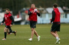 No Cipriani, but Burgess and Ashton to start for powerful England Saxons XV