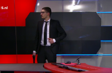 Armed man demands airtime on Dutch TV before being overpowered