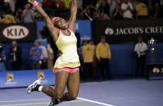 Serena Williams wins her sixth Australian Open after straight-sets victory over Maria Sharapova