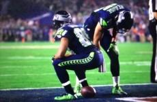 Doug Baldwin's toilet touchdown celebration earns him a Super Bowl penalty