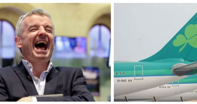'A small regional peripheral airline' – Michael O'Leary dismisses Aer Lingus talk