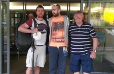 Irishman Patrick Lyttle has walked out of hospital in Sydney