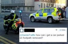 The Gardaí were caught rapid on Twitter last night