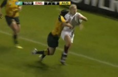 Women's rugby: pretty tough going, as it turns out