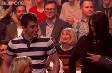 Graham Norton forced two audience members to Irish dance last night and it was priceless