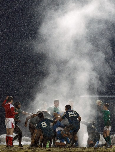 15 of the best images as Ireland complete a hat-trick of Six Nations wins over Italy