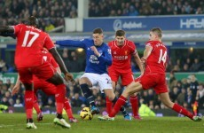 Jordan Ibe's piledriver was the closest Liverpool came to breaking down Everton