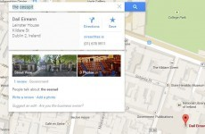 This is what happens when Irish users search 'cesspit' in Google Maps