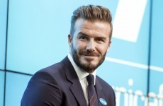 David Beckham has a new job…