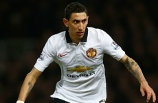 Di Maria 'very content' at United despite burglary scare