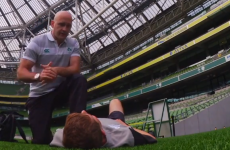Dr Eanna Falvey outlines each step of rugby's pro game concussion protocol