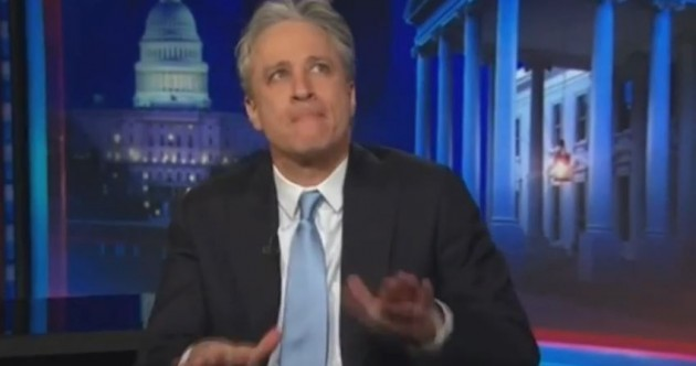 Watch: An emotional Jon Stewart announces he's quitting The Daily Show