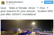 The Gardaí are in a spot of bother after posting this 'sexist' tweet