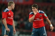 Yes, there are Pro12 games this weekend – Dave Kearney returns and Keatley starts for Munster