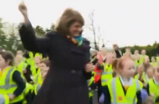 Joan Burton dancing and Enda Kenny shuffling are the funniest things you'll see today