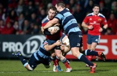 Forget the 6 Nations for a second – Munster's Jack O'Donoghue scored a great try to see off Cardiff