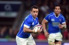 Ulster have signed a Samoan international out-half on a short-term deal