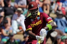 West Indies star fined after dropping a very audible C bomb during Ireland defeat