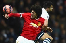 LVG makes no apologies for using Fellaini as Plan B