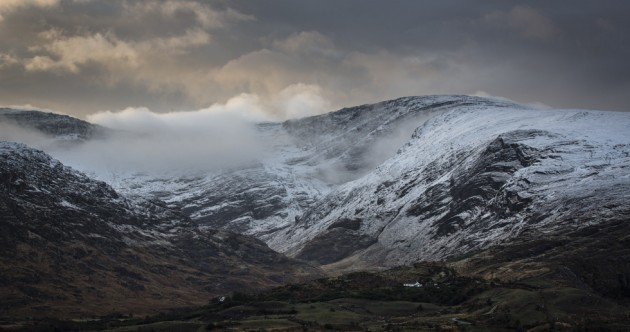 You'd almost forget how dramatic Ireland can look when the temperature drops