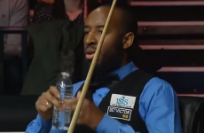 British snooker player forced to explain the 'Isis' sponsor logo on his waistcoat
