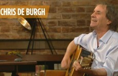 Chris de Burgh had a neverending sing-song on the Late Late, Twitter reacts accordingly