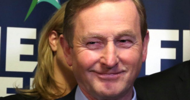 "Enda: ""It's about your right to say two small words, made up of three simple letters – I DO"""