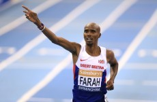 Mo Farah claims Twitter row with team-mate inspired him to break a world record last night