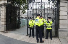 Leinster House visitors could now be scanned and x-rayed
