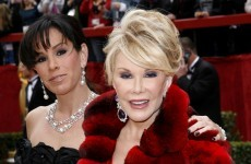 People are very mad that Joan Rivers was left off the Oscars In Memoriam reel