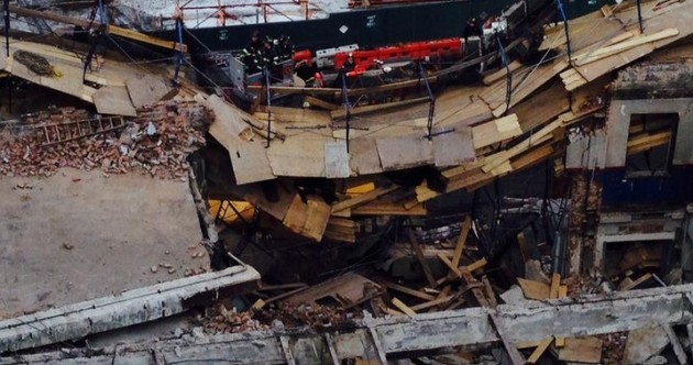 New York building partially collapses on Manhattan's west side