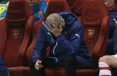 'We were suicidal defensively' – Wenger bemoans 'horrible' night for Arsenal